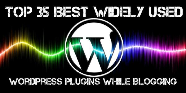 top 35 best widely used wordpress plugins