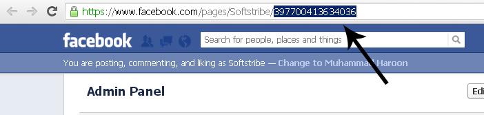 Facebook Fan Page ID