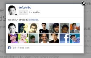Facebook Lightbox FanPage Promoter Plugin