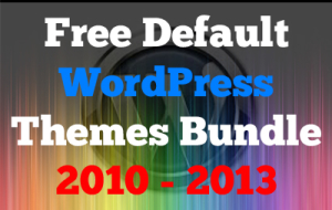 Free Default WordPress themes Bundle01
