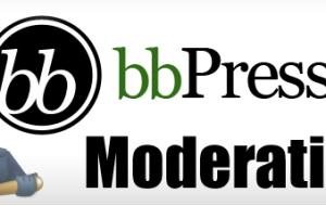 Moderation bbPress