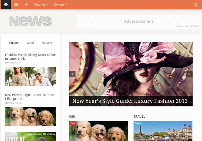 Newses Magazine WordPress Theme