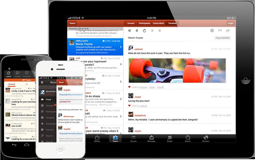 Tapatalk Community Reader Mobile App
