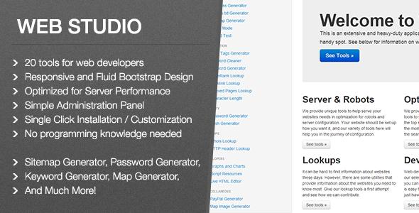 Web Studio PHP script