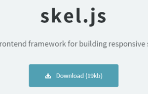 skel.js  A framework for building responsive sites and apps.