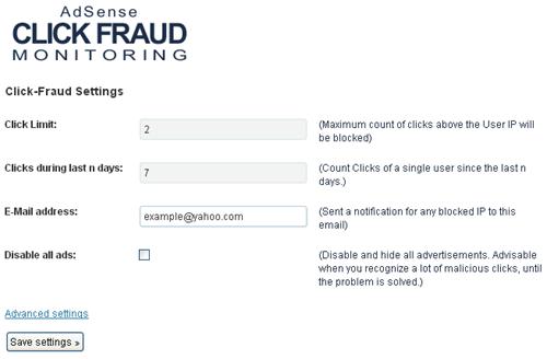 AdSense Click-Fraud Monitoring