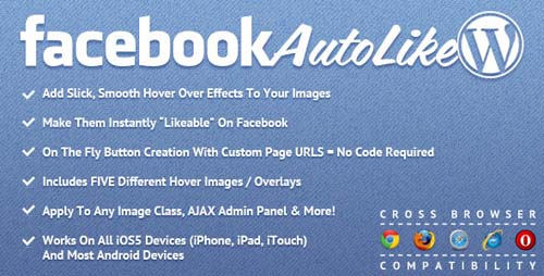 Facebook Auto Like for WordPress