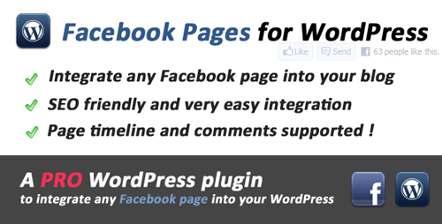 Facebook Pages Integration for WordPress