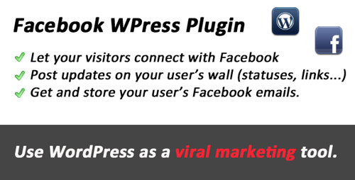 Facebook WPress Viral tool for WordPress