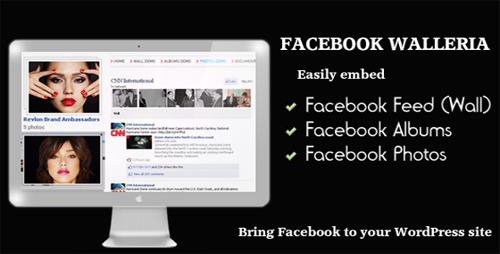 Facebook Walleria - WordPress Plugin