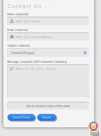 Mega Contact forms