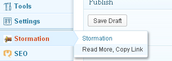 Read more copy link settings page