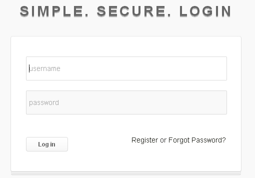 SIMPLE. SECURE. LOGIN