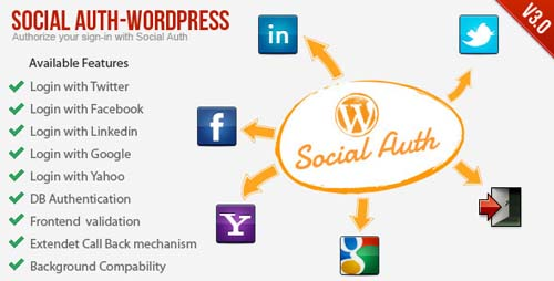 Social Auth WordPress Plugin