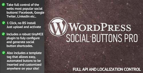 Social Buttons Pro for WordPress