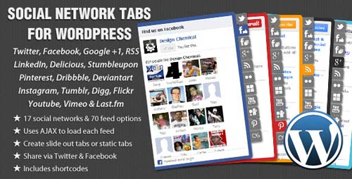 Social Network Tabs For WordPress