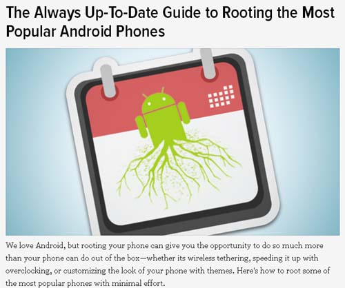 The Always Up-To-Date Guide to Rooting the Most Popular Android Phones