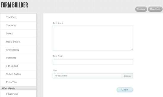 Visual Form Builder Beautiful Forms In Seconds