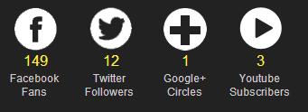 WEN's Social Media Followers Counter