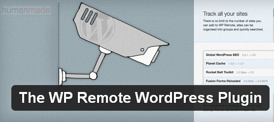 WP Remote WordPress plugin