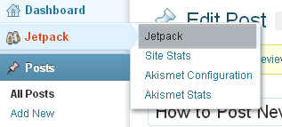 WordPress Jetpack Publicize Option