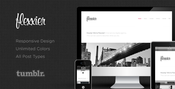 Agency - Responsive Tumblr Theme