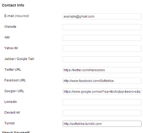 Better User Profile Fields Settings Page