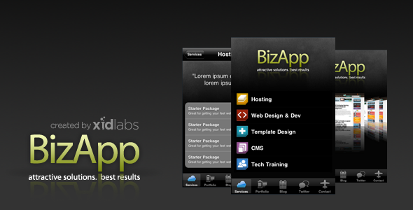 BizApp for Titanium