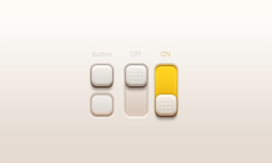 Buttons And Switches(PSD)