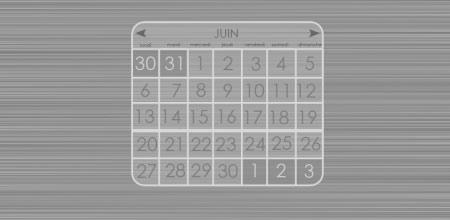 Design calendar PSD
