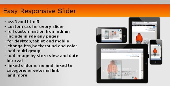 Easy Responsive Slider