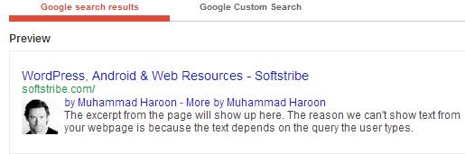 Google Structured Data Testing Tool Verified Google Authorship