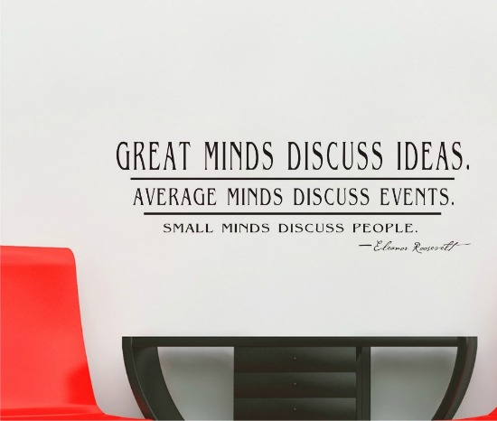 Small Minds Discuss People Quote: Witty Talk: 123 Entrepreneurial Quotes Likely To Get You