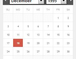 Ion Calendar jQuery Plugin