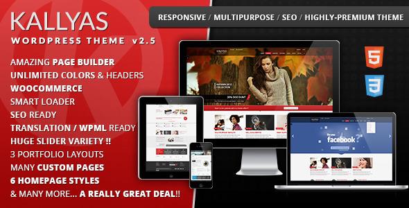 KALLYAS - Responsive Multi-Purpose WordPress Theme