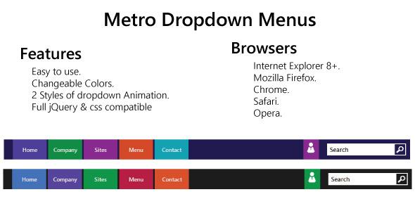 Metro-Style-Dropdown-Menus