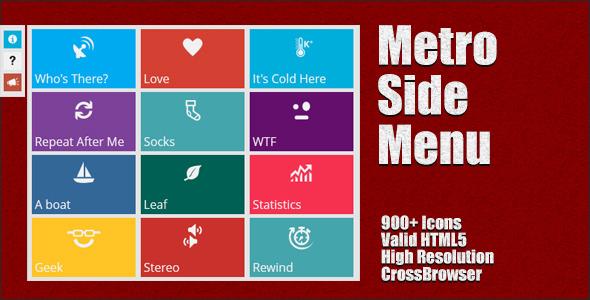 Metro-Style-Side-Menu