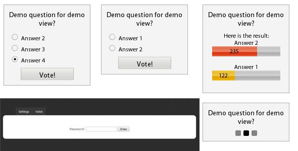 Poll ajax php