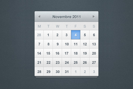 Pretty Little Calendar