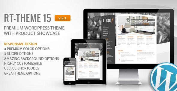 RT-Theme 15 Premium WordPress Theme