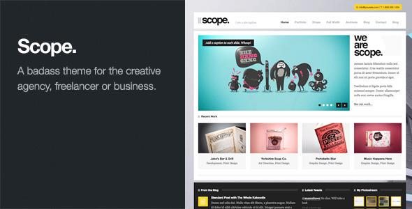 Scope Agency Business WordPress Theme