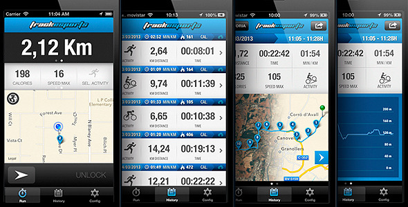 Track Sports. Full App