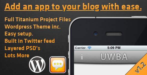 Universal WordPress Blog App
