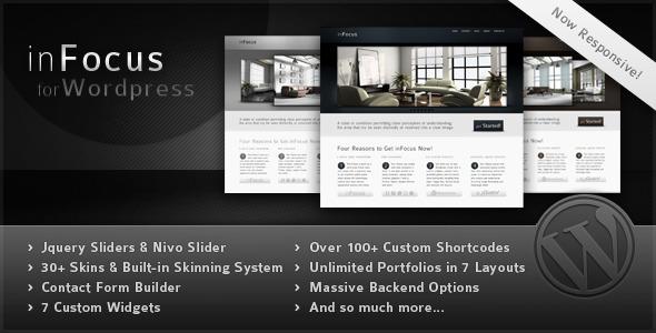 inFocus - Powerful Professional WordPress Theme
