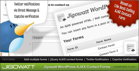 AJAX Contact Forms (for WordPress)