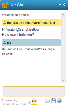 Banckle Chat WordPress