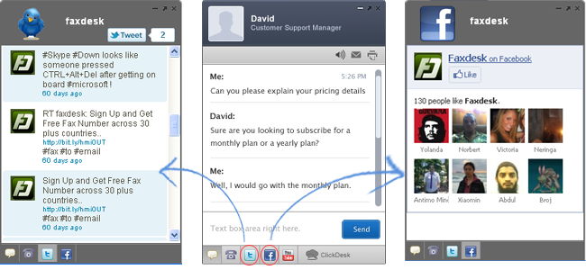 ClickDesk Live Support
