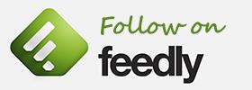 Follow me on Feedly