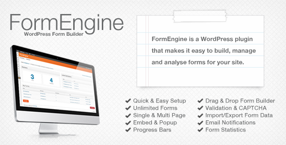 FormEngine - WordPress Contact Form Wizard