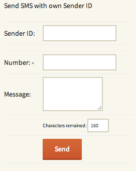 SMSer SMS Widget WordPress Plugin